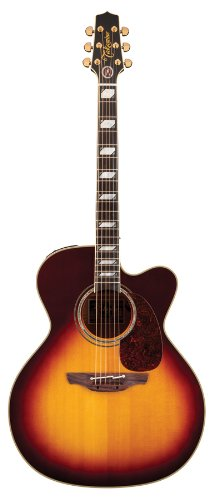 Takamine Artist Signature Series Jumbo Body Sun Burst Cutaway Toby Keith Signature With Case
