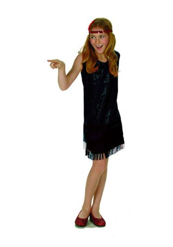 Sequin Flapper Child Costume
