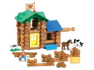 The Original Lincoln Logs White River Ranch Building Set - 1
