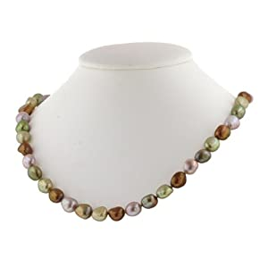 Click to buy Honora Pearl Necklaces: Rainforest Pearl Necklace from Amazon!