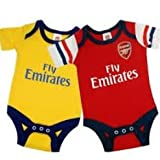 Arsenal Baby Football Body Vests 2013 - 2014