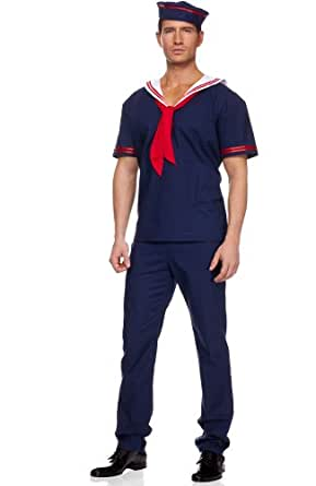 Ahoy Matie Mens Sailor Costume