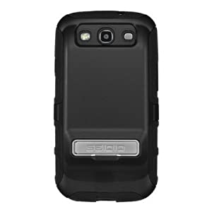 Seidio ACTIVE Extended Case with Metal Kickstand for Samsung Galaxy S3 SIII i9300 (Black)