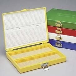 Heathrow Microscope Slide Boxes, 100-Place HS15994C, by Heathrow