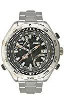 Timex Expedition Premium IQ Altimeter Stainless Steel Mens Watch T2N727