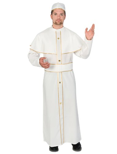 Holy Pope Religious Man Adult Costume Size Standard