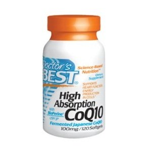 Doctor's Best High Absorption Coq10 (100 mg), 120 Soft gels by Doctor's Best