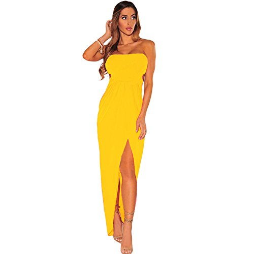 MEINICE -  Abito  - Donna Yellow Medium