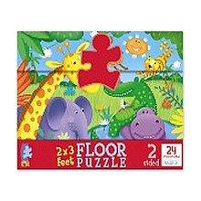 Ceaco Cute Creatures- 24 pieces Floor Puzzle - 1