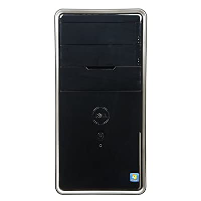 Dell Inspiron Desktop I3847-3089BK - Intel Processor G3220 3.0GHz, 16GB DDR3 Memory, 1TB Hard Drive, CD/DVD Burner, Windows 7 Professional, Black