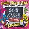 Learn Read and Sing 3 Cd Karaoke Set Preschool