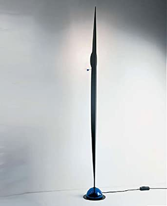 Flamme floor lamp - sanded aluminum, 110 - 125V (for use in the U.S., Canada etc.)