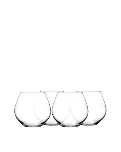 Fitz & Floyd Giselle Set of 4 Double Old Fashioned Glasses