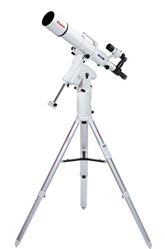 Vixen Optics 25075Ds Sx2 Mount With Star Book One And Ed103S Dual Speed Telescope (White)