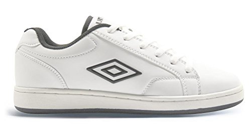 Umbro Scarpe Uomo Medway 40202U 096 White/Black,simil stan smith (40.5)