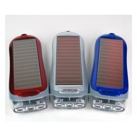 Eco Charge Solar Pull Flashlight LED Re-Chargeable LIght