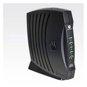Surfboard cable modem sb5101 is missing a