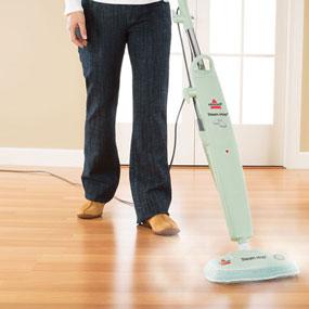 ... Steam Mop Hard-Floor Cleaner, Green Tea, 1867-7 - Household Steam Mops