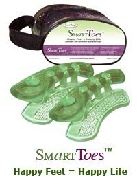 SmartToes Toe Stretcher & Straightener: Ease Discomfort Of Hammer Toe, Plantar Fasciitis & Bunions. Help Align Toes & Feet. Ultimate Relief For Stressed Out Feet!