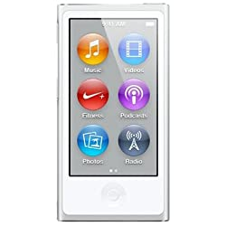 Apple iPod nano 16GB シルバー MD480J/A <第7世代>