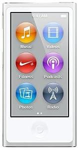 最新モデル 第7世代 Apple iPod nano 16GB シルバー MD480J/A