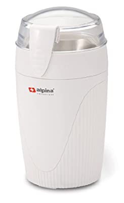 Alpina SF-2813 Electric Coffee/Spice/Nut Grinder for 220/240 Volt Countries (Not for USA), White by VCT Electronics (Kitchen)