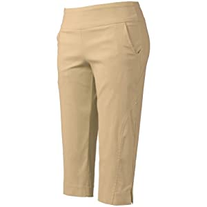 Bette & Court Ladies Pull On Stretch Capri Pants by Bette & Court