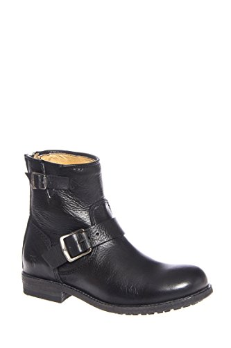 Tyler Engineer Low Heel Leather Boot
