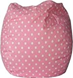 Bean Bag Polkadots Pink