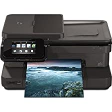 HP Photosmart 7520 Wireless Color Photo Printer with Scanner, Copier and Fax