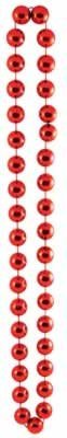 Jumbo Party Beads (red) Party Accessory  (1 count) (1/Card)
