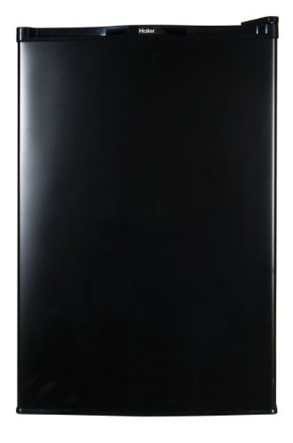 Haier Hnse045Bb Compact Refrigerator With Freezer Compartment, 4.5 Cubic Feet, Black
