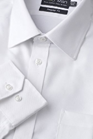 Pure Cotton Easy Iron Twill Shirt