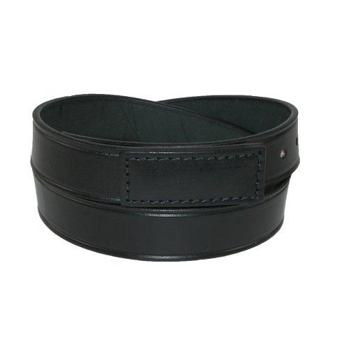 Boston Leather Mens Leather Movers & Mechanics No Scratch Work Belt, Medium, Black