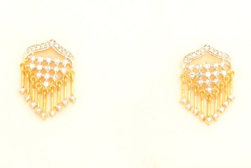 Fashion Balika Fashion Jewelry Gold-Plated Dangle & Drop Earring For Women Gold-BFJER045 (Yellow)