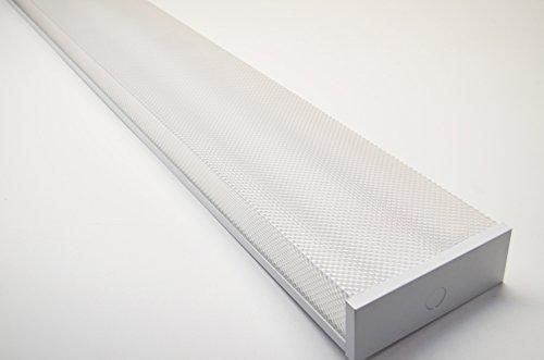 Orilis White 4 ft. 48 Watt Low Profile Wraparound