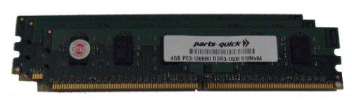 PARTS-QUICK Brand 2GB Memory Upgrade for ASRock Motherboard P55 Pro DDR3 PC3-10600 1333MHz DIMM Non-ECC Desktop RAM