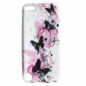 Butterflies Pattern Soft TPU Case for iPod Touch 5 5th generation