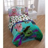 Angry Birds Matilda The Movie Twin Comforter & Sheets (4 Piece Bed In A Bag)