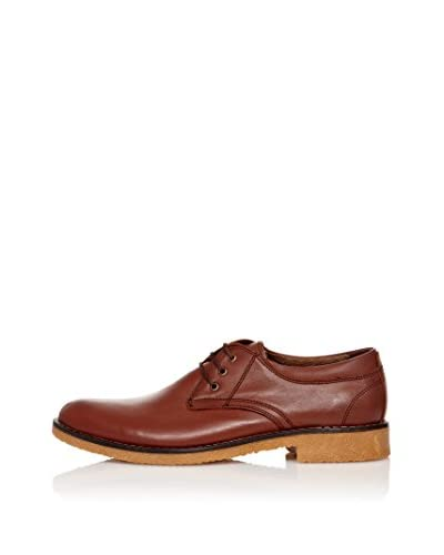 Wolfland Zapatos Derby Kahve Marrón