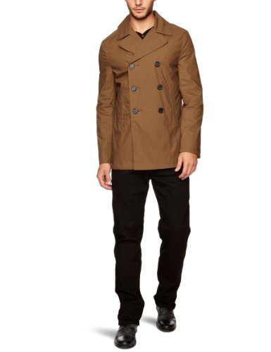 French Connection Action Cotton Pea Men's Jacket Beech Large