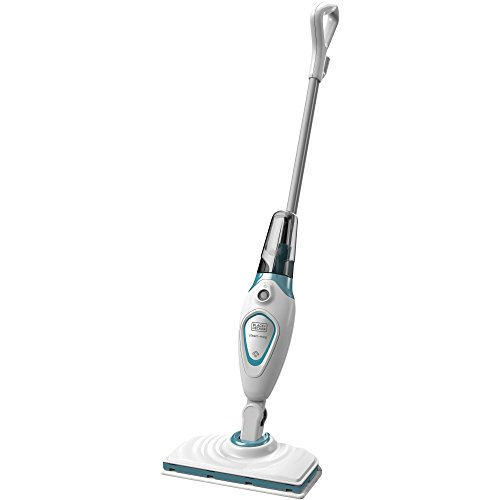 Black+Decker Microfiber Floor Steamer Mop Cleaner with Swivel Steering (Monster Steamer Replacement Pads compare prices)