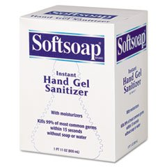 * Fragrance-Free Instant Hand Gel Sanitizer Refill 800-ml Bag Clear