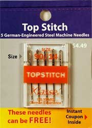 Best Price! Klasse' Top Stitch Needles Size 90/14
