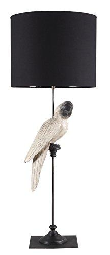 stehlampe-papagei-weiss-mit-schwarzem-lampenschirm-gestell-eisen-und-holz