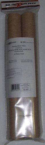 12 Pack Assorted Model Rocket Body Tubes 18