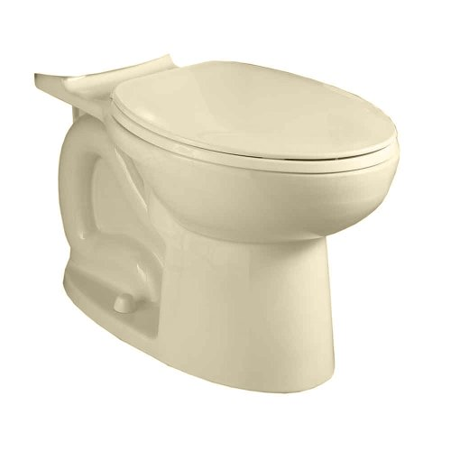 American Standard 3717F001.021 Cadet 3 Flowise Compact Right Height Elongated Toilet Bowl Only In Bone front-884638