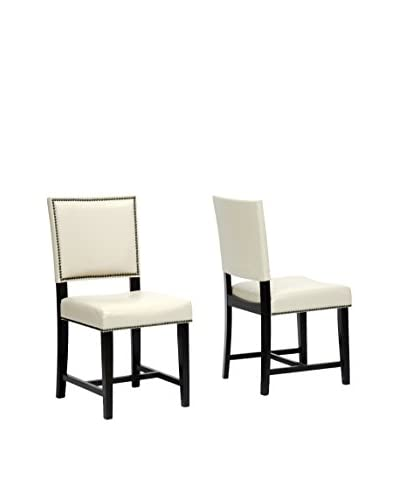 Baxton Studio Set of 2 Nottingham Dining Chairs