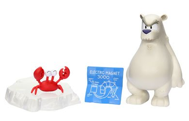 "Buy Low Price Jakks Pacific Club Penguin 2"" Mix 'N Match Figure Pack Series 4 – Herbert P. Bear, Esquire and Klutzy the Crab with Accessories (B002QTNXQ6)"