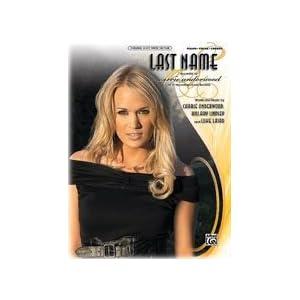 last name carrie underwood  chords